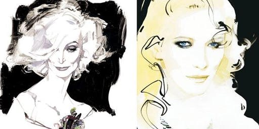 """Tales from Couture"" from legendary fashion illustrator  David Downton"