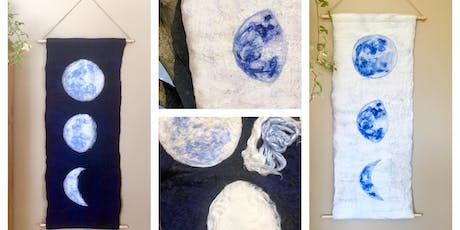 Felted Moon Wall Hanging Workshop, October 06, 2019 tickets