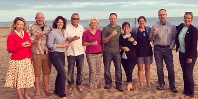 Pi Singles BBQ on Exmouth Beach