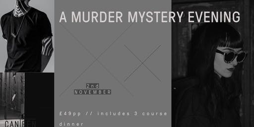 A Murder Mystery Evening With A 3 Course Dinner