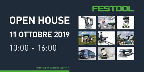 Evento Prospect - Open House Festool biglietti