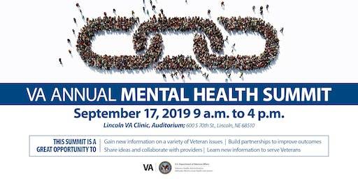 "2019 VA Mental Health Summit  ""Parternship, Collaboration, and Action"""