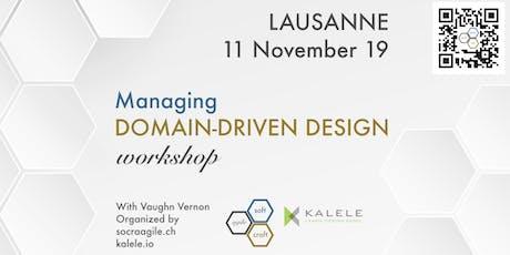 Intensive, 1-day, hands-on MDDD workshop by Vaughn Vernon in Lausanne (CH) tickets