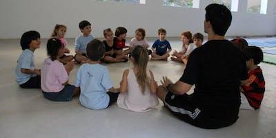 Yoga com Contação de Historias para programa de valores - São Paulo , SP - 2019