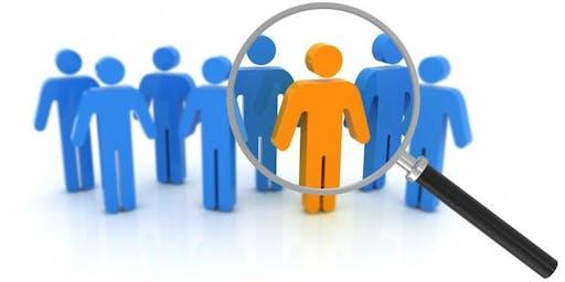 Recruitment & Fair Selection Training - 13th January 2020