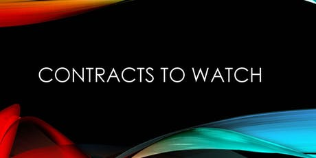 Contracts to Watch - October 30, 2019 tickets