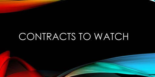 Contracts to Watch - August 21, 2019