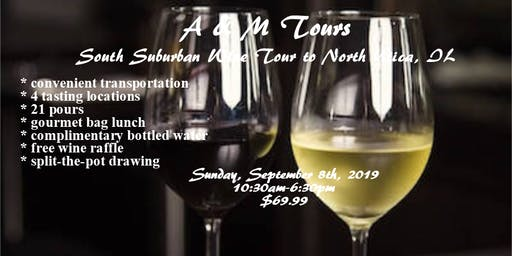 South Suburban Wine Tasting Tour to NORTH UTICA, IL