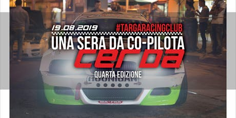 Una Sera da Co-Pilota | Cerda tickets