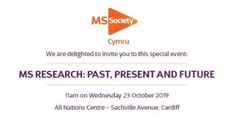 Cardiff Legacy Event - MS Research: Past, Present and Future