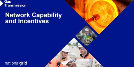 National Grid Gas: Network Capability and Incentives webinar tickets