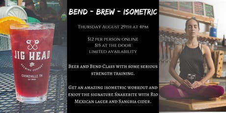 Bend - Brew - Isometric tickets