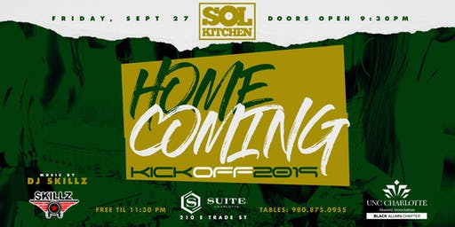 UNCC Homecoming Kickoff 2019 with DJ Skillz