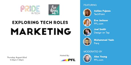Pride IN Tech presents Tech Roles: Marketing tickets