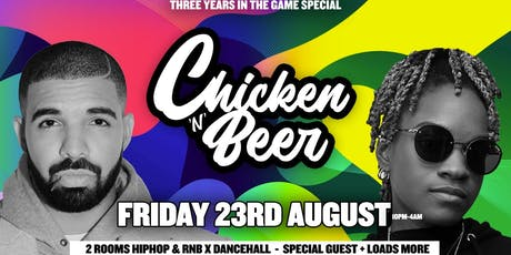 Chicken 'n' Beer Bday Bash x Pre Carnival Special tickets