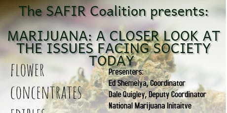 Marijuana : A closer look at the issues facing society today tickets