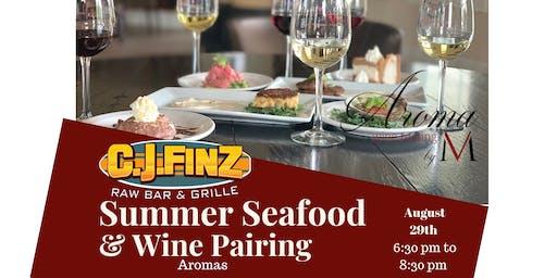 Aroma Summer Seafood & Wine Pairing