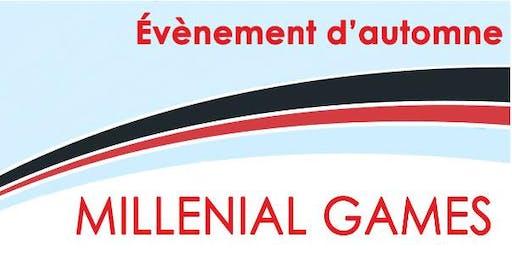 MILLENIAL GAMES du RJE