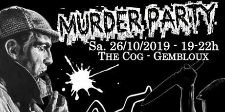 Murder Party à The COG Coworking Gembloux billets