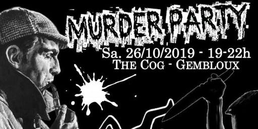 Murder Party à The COG Coworking Gembloux