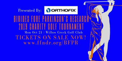 Birdies Fore Parkinson's Research 2019 Charity Golf Tournament