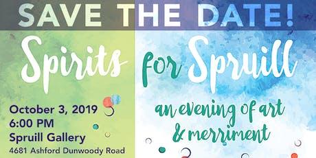 Spirits for Spruill tickets