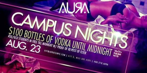 Campus Nights @ Aura Nightclub