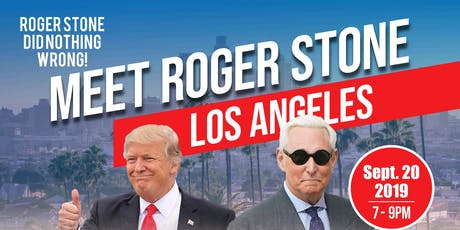 An Evening With Roger Stone-Los Angeles tickets