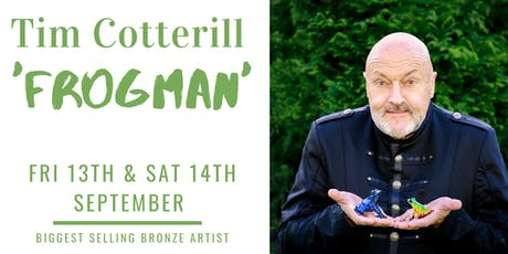Meet Tim Cotterill 'Frogman' Saturday tickets
