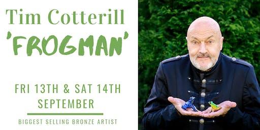 Meet Tim Cotterill 'Frogman' Saturday