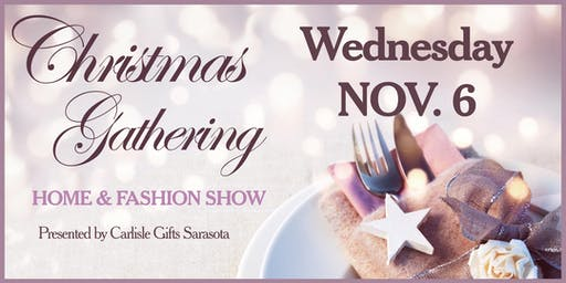 Carlisle Gifts Sarasota Christmas Gathering 2019 - Nov. 6