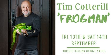 Meet Tim Cotterill 'Frogman' Friday tickets