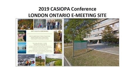 2019 London E-Meeting Site for CASIOPA Conference tickets