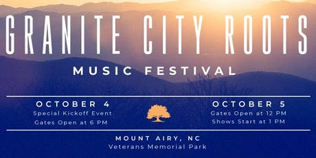 Granite City Roots Music Festival  tickets