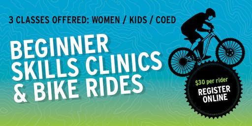 Kids Beginner Mountain Bike Skills Clinic