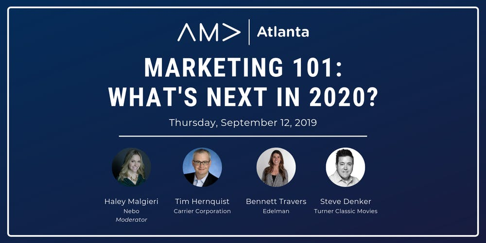 Marketing 101: What's Next in 2020? (Free for AMA Members)
