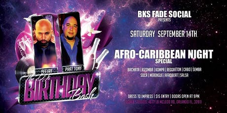 BKS Fade Social - The DJ Birthday Bash Edition tickets