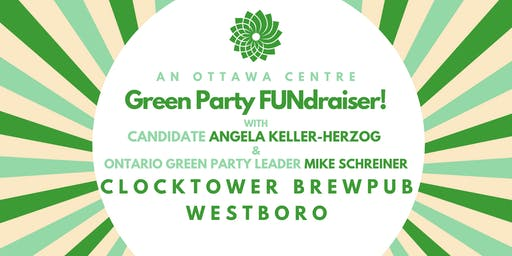 Green Fundraiser with Angela Keller-Herzog and Mike Schreiner