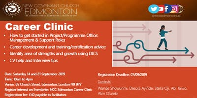 NCC Edmonton Career Clinic