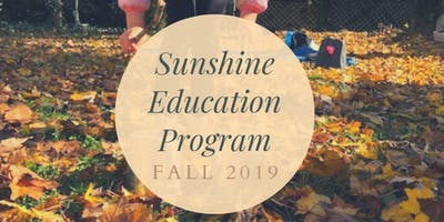Fall Sunshine Program at the Farm (2-5yrs + Caregiver)(6-weeks)TUES