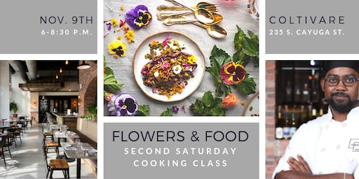 Cooking Class: Flowers & Food