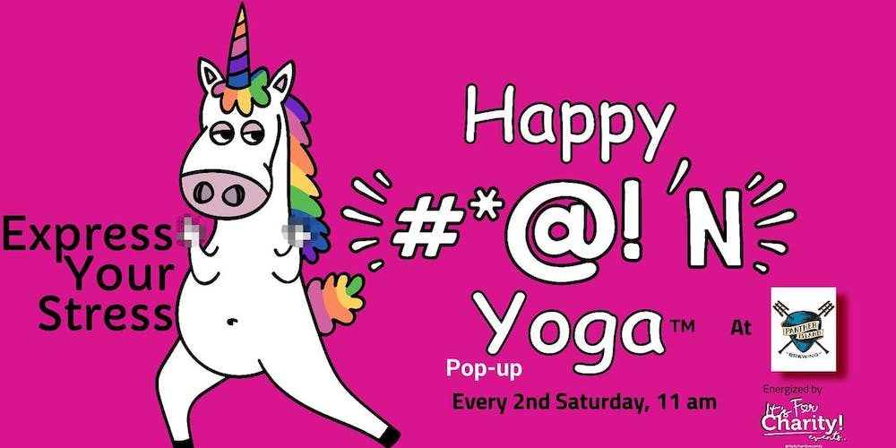 Happy #*@!'N Yoga-For Charity at Panther Island Brewing