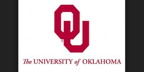 University of Oklahoma Representative Visit tickets