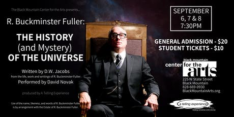 R. Buckminster Fuller: THE HISTORY (and mystery) OF THE UNIVERSE tickets