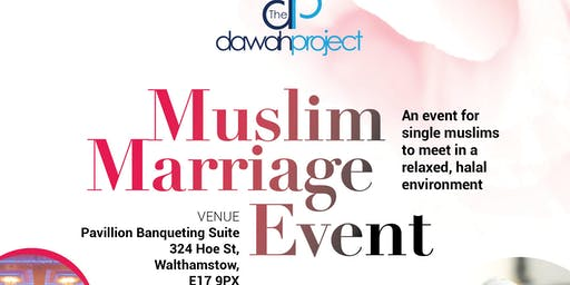 Muslim Marriage Event in London