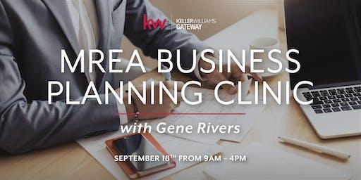MREA Business Planning Clinic w/ Gene Rivers