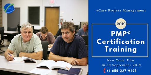 PMP | Certification | Course | Training | New York | September | 2019