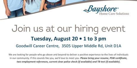 August 20th -2019 Hiring Event - Bay Shore tickets