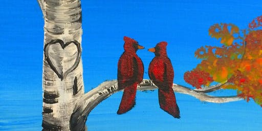 Kid's Painting Class - Birds