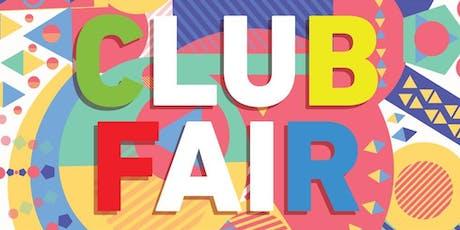 Club Fair Fall 2019 tickets